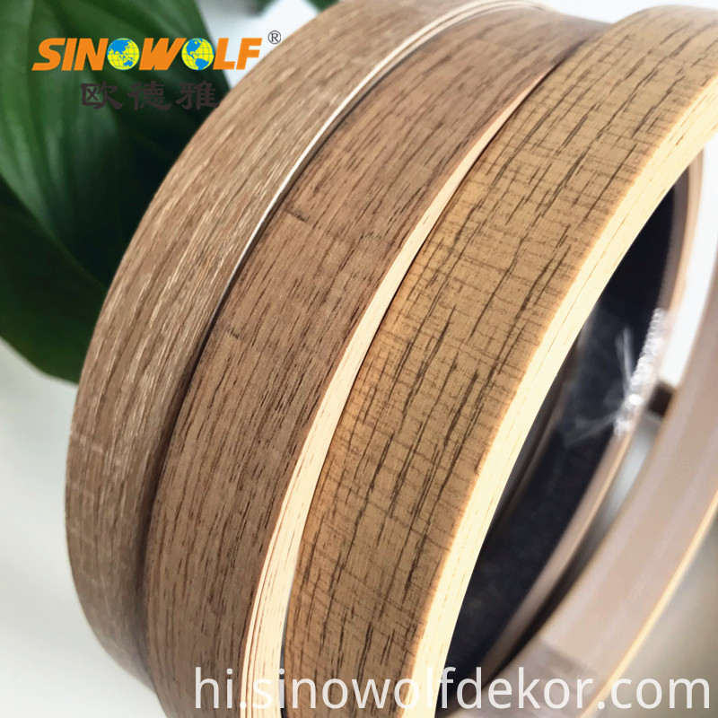 2 0mm Environmental Protection Abs Woodgrain Edge Banding