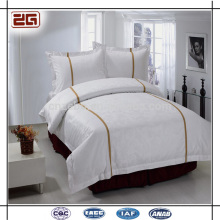 4 Stück Set Plain White Bedding 5 Sterne Hotel Bettwäsche