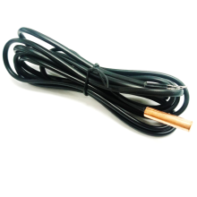 Black flat cable with NTC PT1000
