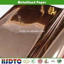 Pure copper metallized pet film