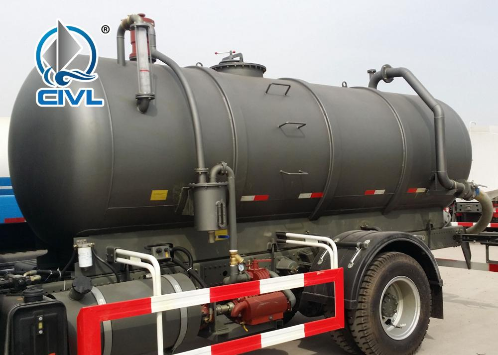 Sewage Suction Truck 12
