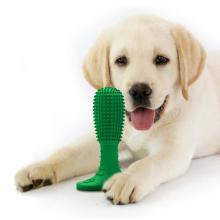 Силиконовая жевательная игрушка для собак без BPA, игрушка для зубной щетки