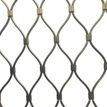 Stainless Steel Rope Zoo Cage House Sky Mesh for Tiger, Lion, Leopard Seine, Cage Net