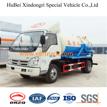 Good Quality 4cbm Euro4 Suction Sewage Truck
