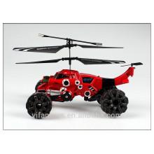 3 CH Land & Air Anfíbio RC helicóptero chumbo mísseis rc helicóptero brinquedos para crianças