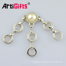 accesorios de moda de prendas de vestir de metal