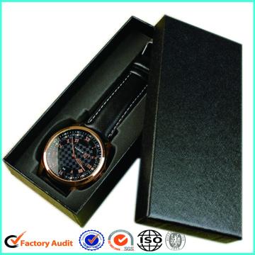 Black Paper Watch Box Packaging