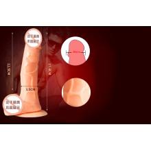 Silicone gode G-Spot Massager Sex Toy pour femmes Ij-S10036