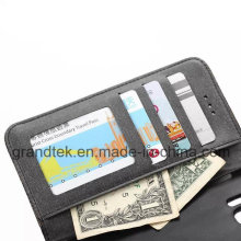 Wallet PU Leather Phone Case for Samsung Galaxy S6 with Stand