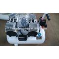 Zahnloser geräuscharmer ölloser Luftkompressor 50L 0.55KW