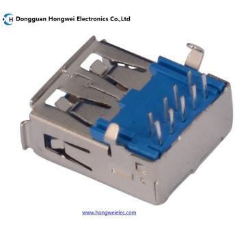 A Typ Weiblich 90 Grad DIP 9pin USB 3.0 Stecker