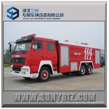10000L ~ 15000L Sinotruk Steyr 6X4 Fire Fighting Truck