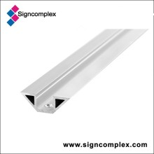 520mm/1020mm/2000mm/3000mm Silver Oxidation 6063 Aluminum Profile with CE RoHS