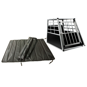 Durable Car Boot Dog Cage Transport Box Carpet