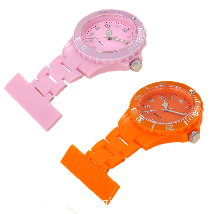 plastic alloy watch for nurse