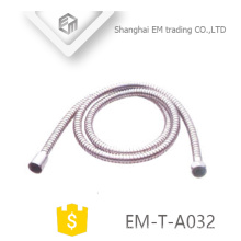 EM-T-A032 Red copper stainless steel shower hose Sanitary accessory