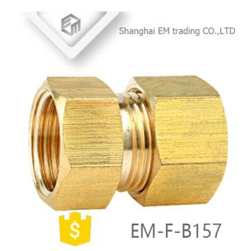 EM-F-B157 Brass pipe fitting thread nipple