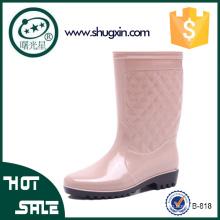 дамы необычные дождь ботинки женская дождь ботинки оптовая