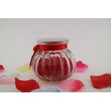 Único jarro velas em forma de abóbora de Halloween vela perfumada fazendo para decoração de casa