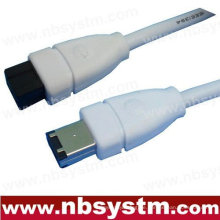 6 FT 9 bis 6 PIN IEEE1394B 6 'FIREWIRE 800 400 KABEL