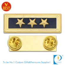 Insigne de police d'état de Chine avec plaqué or de Chine