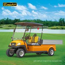 EXCAR 2 lugares carrinho de golfe elétrico veículo utilitário elétrico carro mini caminhão