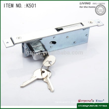 Gorgeous furniture cabinet sliding glass door lock whit hook