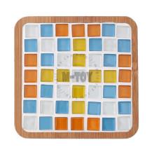 Kit de mosaïque en verre carré Coaster