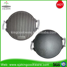Round barbecue korea bbq grill pan