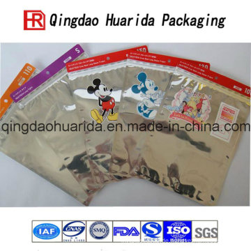 Bekleidungsaluminium mit Reißverschluss-Kleidungs-Tasche