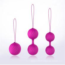 Les jouets sexuels compacts adultes de rétablissement de post-partum de rétrécissement de Yin Ball Injo-Sy003