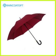 Parapluie droit de poignée de capot de fibre de verre de 23inch * 8k