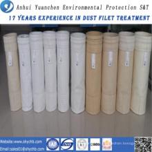 A fábrica fornece diretamente o saco de filtro acrílico da poeira para a indústria da metalurgia com amostra grátis