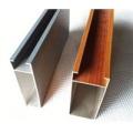 Ventanas y puertas de aluminio Perfiles de aluminio Marco de pared de cortina