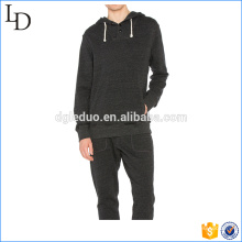 Cotton breathable gym wear hoodies wholesale fitted sport hood