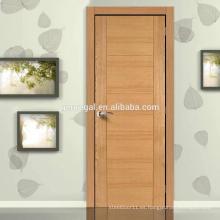 Puertas de dormitorio interiores de madera de diseño simple