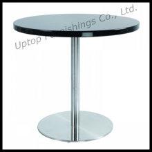 Elegant Black Painting Round MDF Dining Table (SP-GT158)