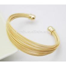 Fashion Indian Gold 316L Stainless Steel Accessoires pour femmes Bracelet