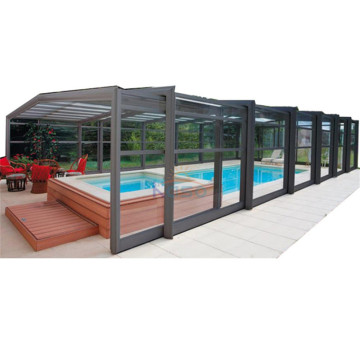 Hard Top Swimming Drain Pool Automatische Abdeckungen