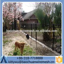 Anping Baochuan Made in China Cerca de acero / valla de hierro forjado