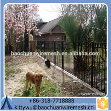 Customizable Steel Fence/ Wrought Iron Fence with low price