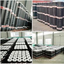 Membrana de impermeabilización de tejado bituminosa modificada SBS de 4 mm