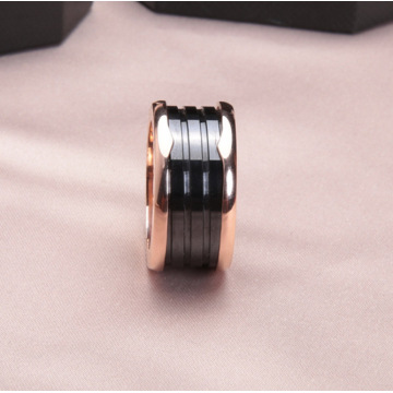 Merek Black Ceramics Spring Rings For Women