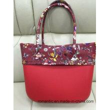 Promocional Señora de alta calidad EVA bolsos bolsa de PVC conjunto (NMDK-040110)