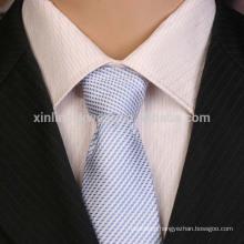 100% Handmade Perfect Knot Polyester Slim Microfiber Woven Tie