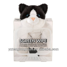 Funny Animal Shaped Screen Cleaner Plush Cat Screen Cleaner