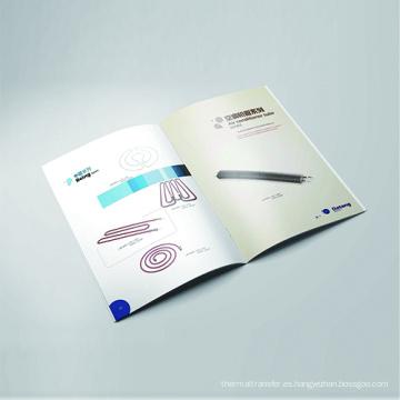 Impresión de encuadernación de catálogos de alta gama