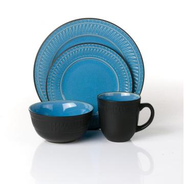 Partihandel New Design 16-bitars stengods dinnerware set