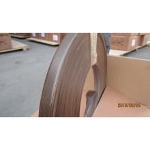 Cinta de aluminio de las bandas de borde del PVC del grueso del alto 1m m