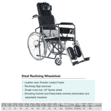 Steel Commode Wheelchair Most Popular